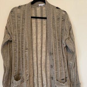 Cashmere sweater beige/brown